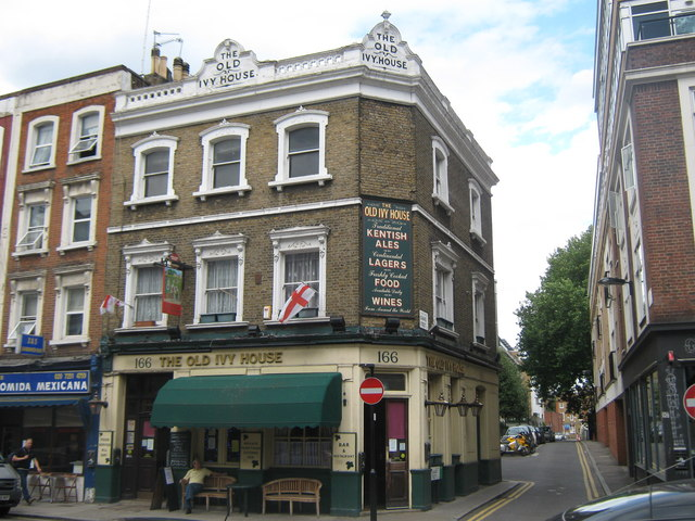 The old ivy house public house david anstiss cc by for The ivy house