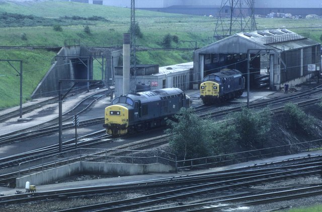 All Out Diesel >> The Diesel servicing shed at Tinsley © roger geach ...