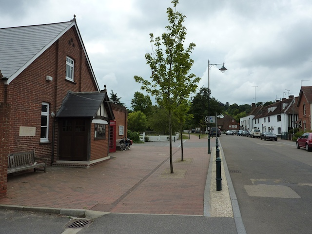 Southern end of The Broadway, Lamberhurst