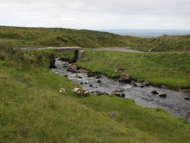 Sligo: Benbulbin. A Small Bridge