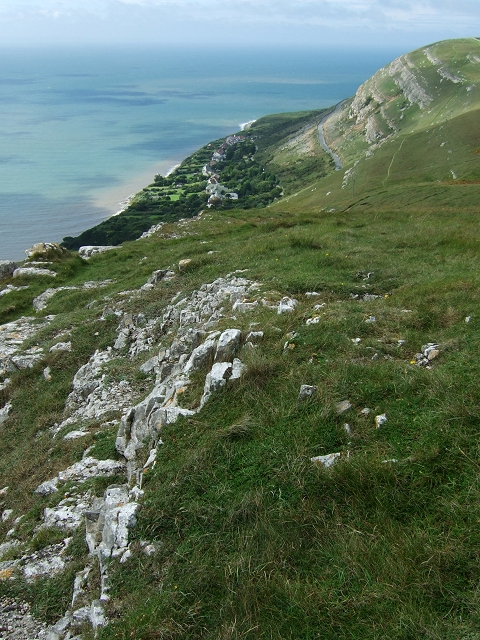 View of Gogarth from the Top of Great Orme