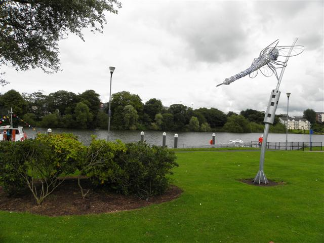 Dragonfly Sculpture, Coleraine:: OS grid C8432 :: Geograph Ireland ...