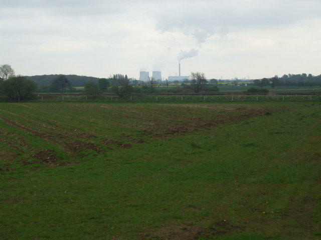 Fields towards the Railway, Burton Salmon