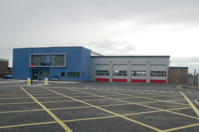 North Tyneside East fire station