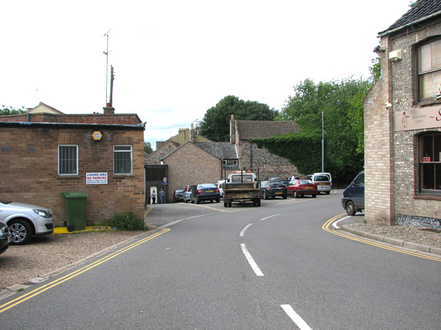 The site of St Giles' church, Thetford