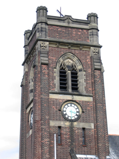Alfreton - Watchorn Church tower