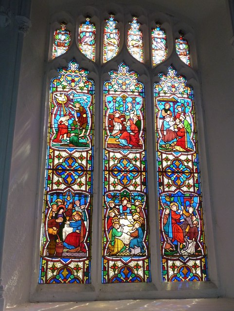 St Mary's Church, Brome: stained glass windows (8)