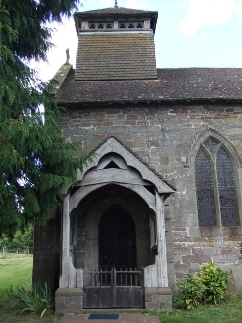 Church porch Brinsop