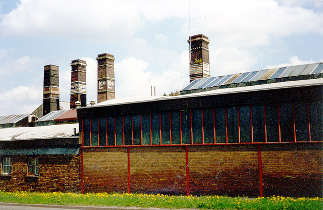 Lilleshall Co's Brick & Tile factory, Snedshill, Oakengates