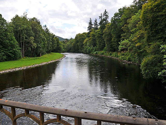 River Tay at Taymouth Castle