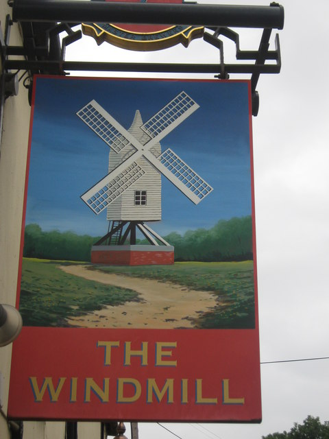 The Windmill, Pub Sign, Faversham