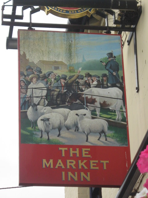 The Market Inn, Pub Sign Faversham