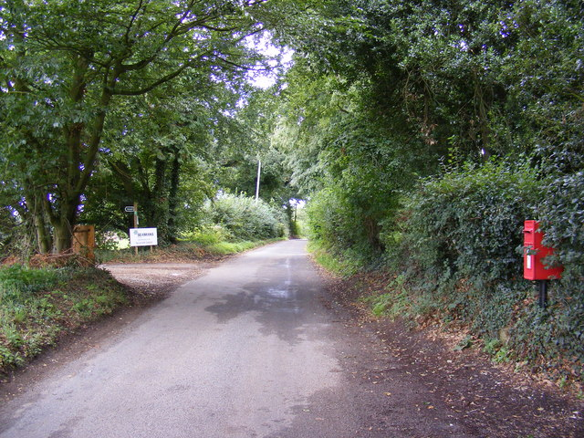 Thorington Road & The Church  Postbox