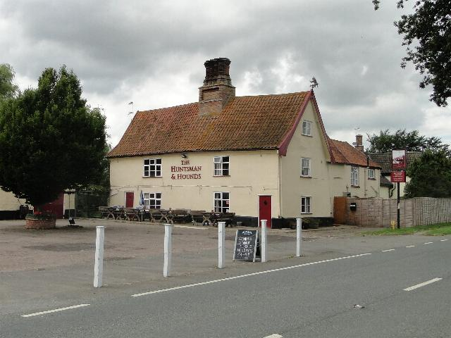 The Huntsman and Hounds, Spexhall, Suffolk