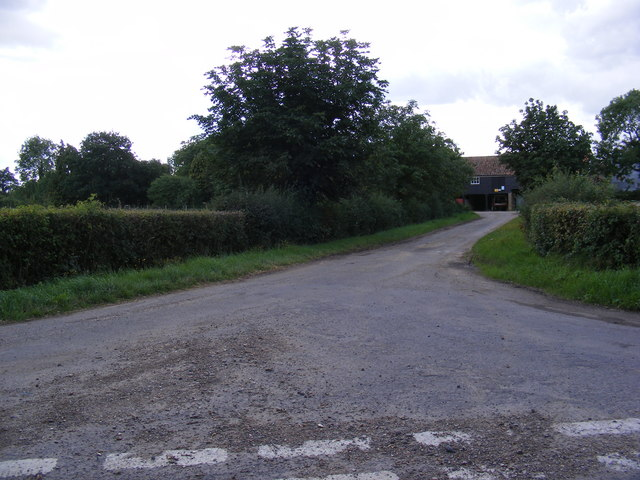 The entrance to Bocking Hall