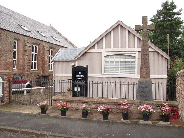 War Memorial, Horncliffe