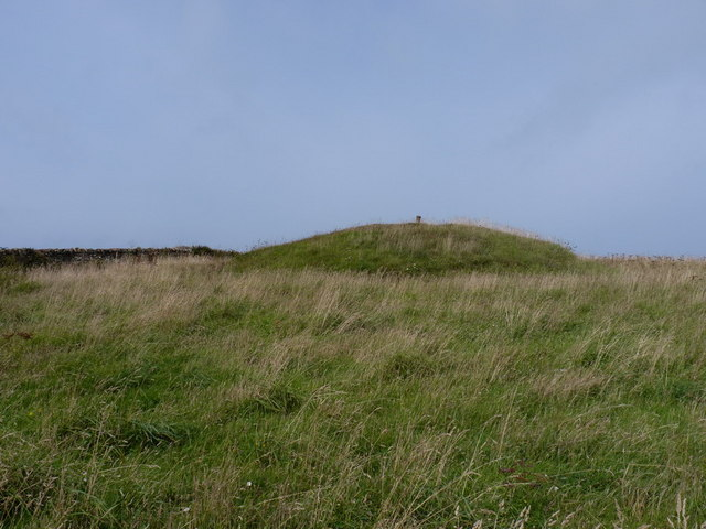 Tumulus on Scarnor Point