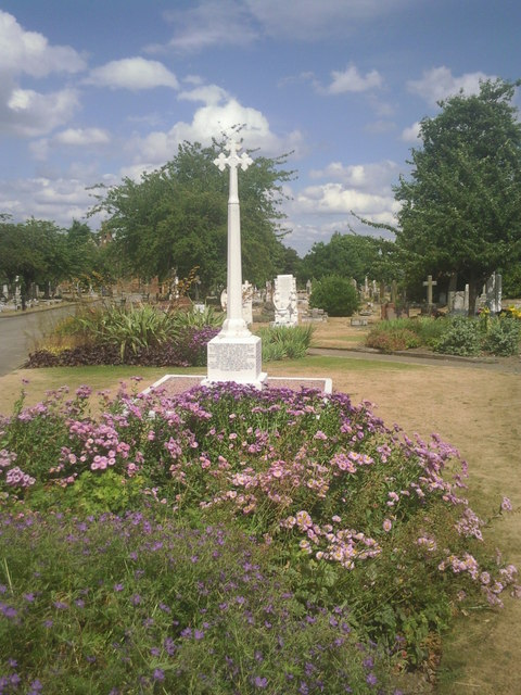In Erith Cemetery