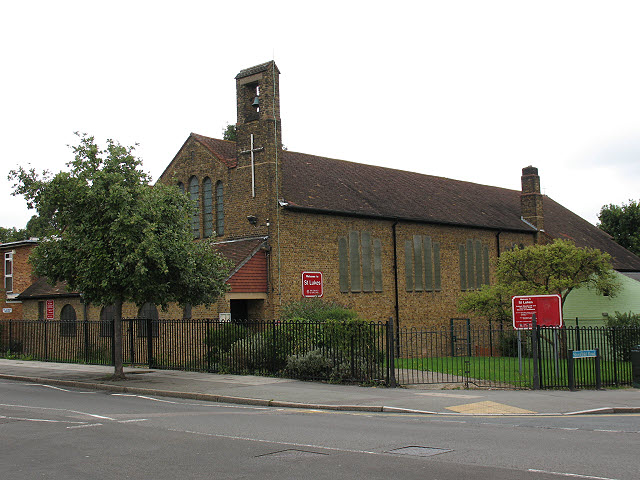 St Luke's church, Downham