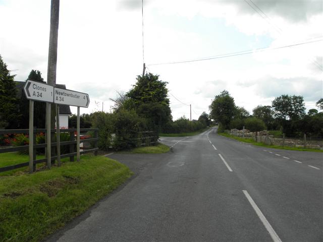 A34 Clones Road, Clontivrin