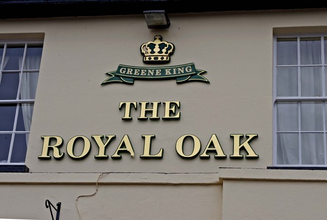 The Royal Oak (sign on wall), 265 Kingston Road