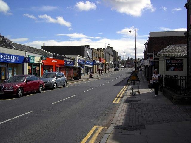 Cowdenbeath High Street