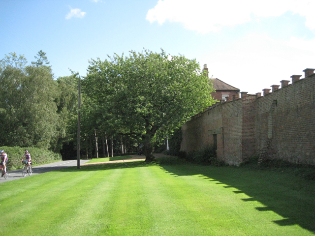 Barston Hall, Barston Lane frontage
