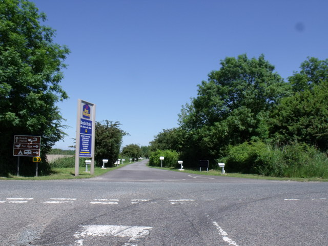 Far Ings Lane junction