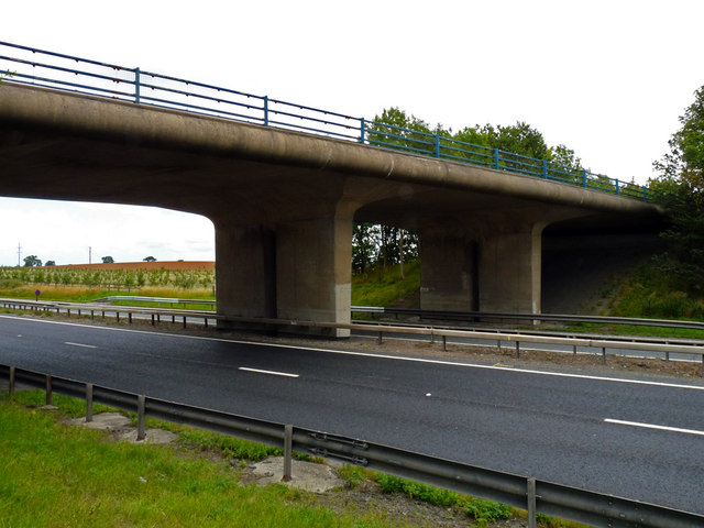 Bridge taking Yarm Road over the A19