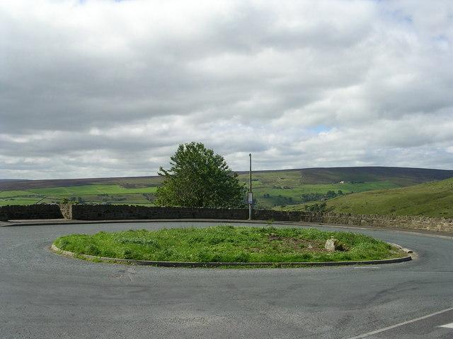 Bus Turning Circle - Wainstalls Road