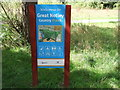 TL7320 : Sign at entrance to Great Notley Country Park by PAUL FARMER