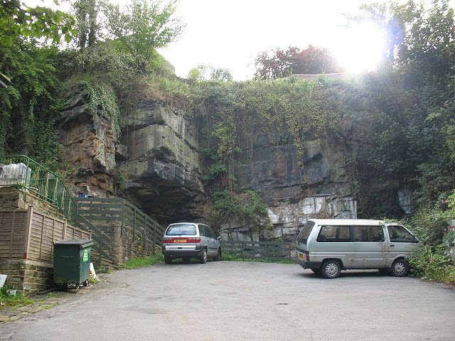 Old quarry car park