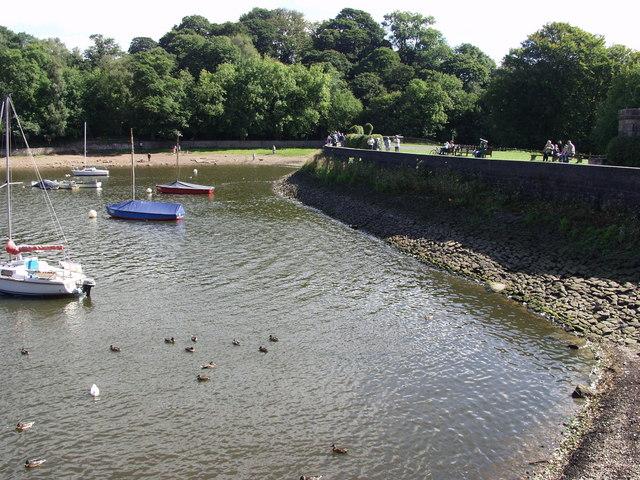 Rudyard dam