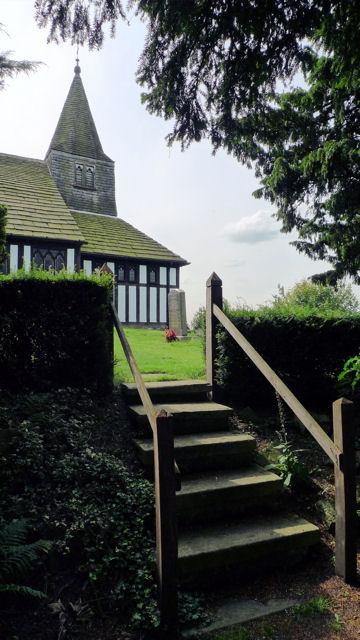 Churchyard entrance, Marton