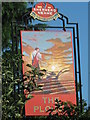 TQ9661 : The Plough, Pub Sign, Lewson Street by David Anstiss