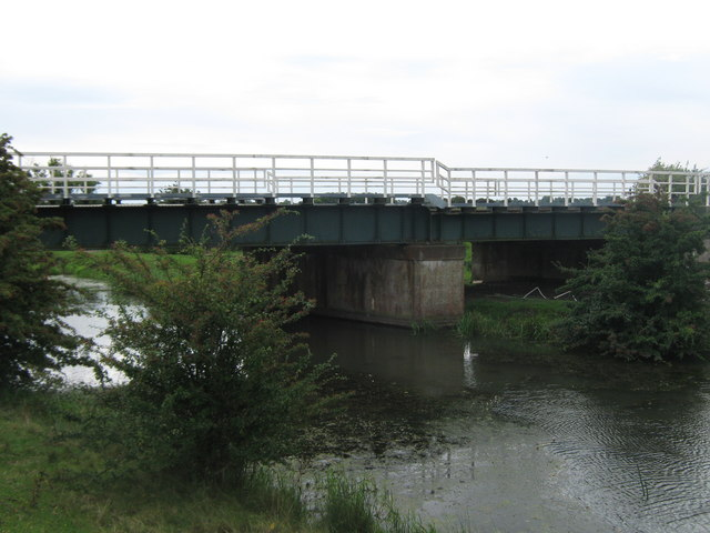 Railway bridge over the Royal Military Canal