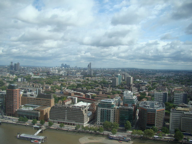 General view over London, viewed from Altitude 360