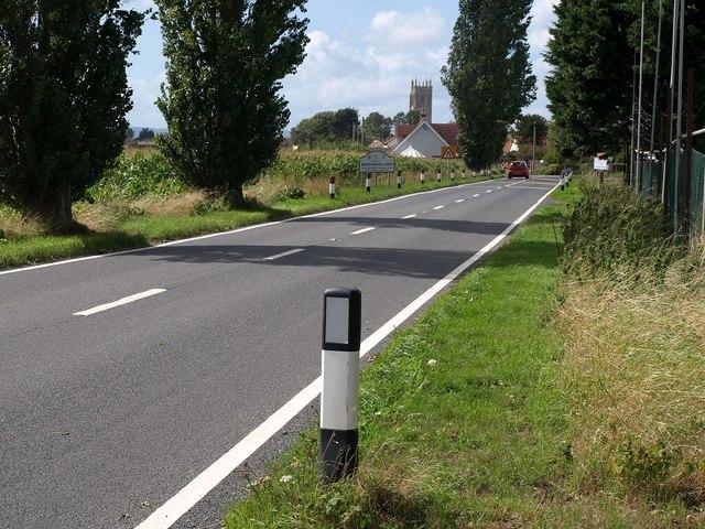 A372 road