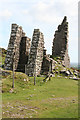 SX2670 : St Cleer: the ruins of Pearce's engine house by Martin Bodman