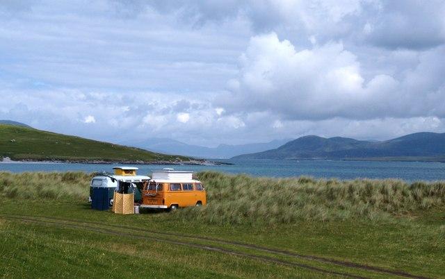 Go anywhere, sleep anywhere in a campervan