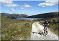 NX4578 : Climbing above Loch Dee : Week 35