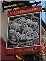 TR0042 : The Oranges,Pub Sign, Ashford by David Anstiss