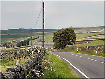 SD9921 : Blackstone Edge Road by David Dixon