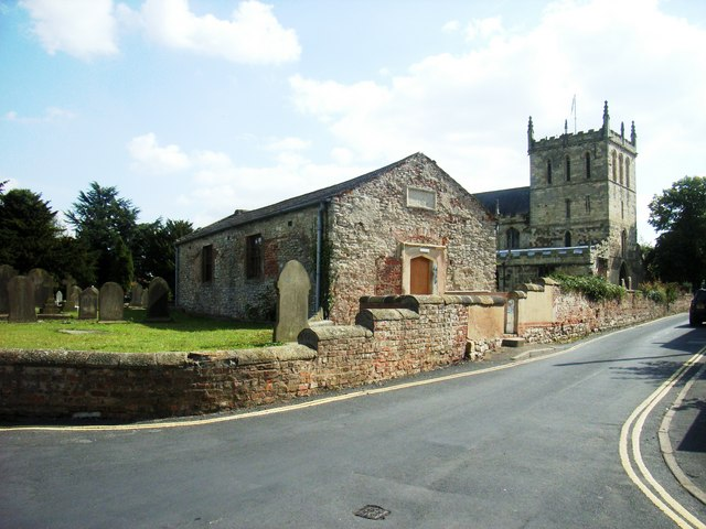 Grammar School and Priory Church of St Lawrence , Snaith