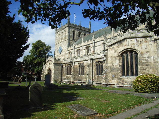 The Priory Church of St Lawrence, Snaith