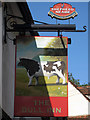 TQ7550 : The Bull Inn sign by Oast House Archive