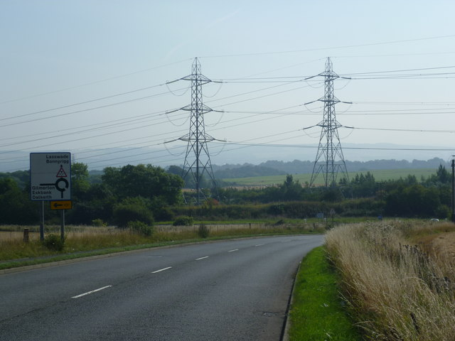 Lasswade Road, near West Edge Farm