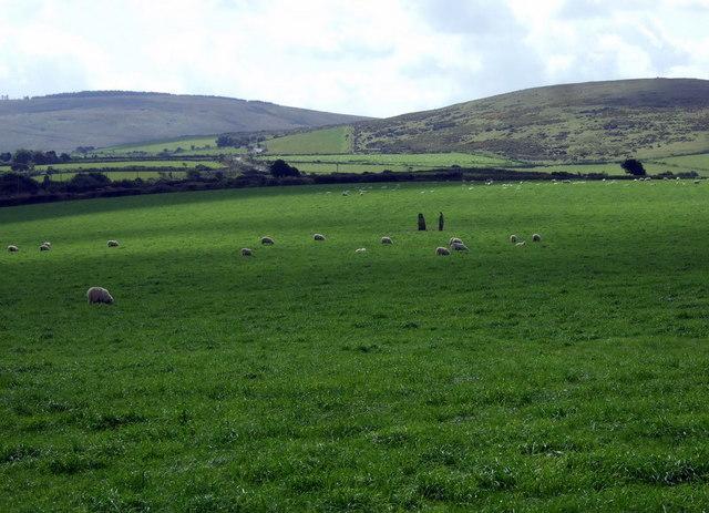 Standing stones near Penparke