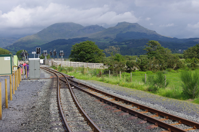 Welsh Highland Railway, Pont Croesor station