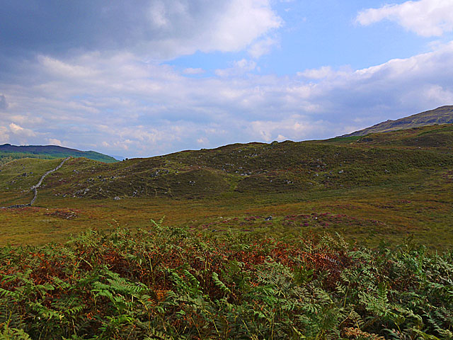 Moorland south of the River Gaur